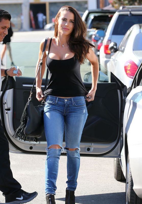 Jessica Lowndes Booty in jeans - Out in Los Angeles, October 2015