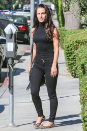 Jessica Lowndes - Shopping in Los Angeles, October 2015