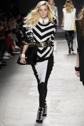 Jessica Stam - Runway at Balmain x H&M Collection Launch Event in New York
