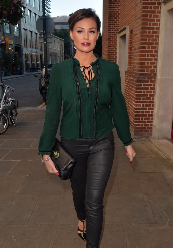 Jessica Wright - at the Globe Theatre in London, October 2015