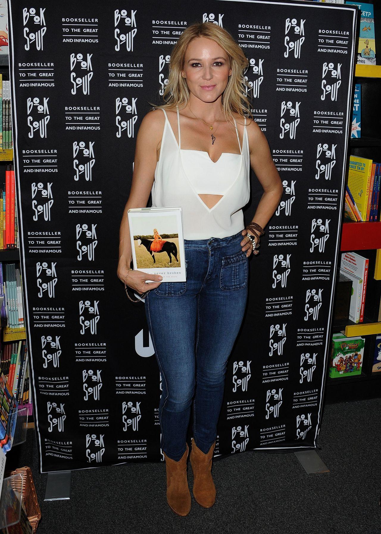 Jewel Kilcher Never Broken Book Release West Hollywood