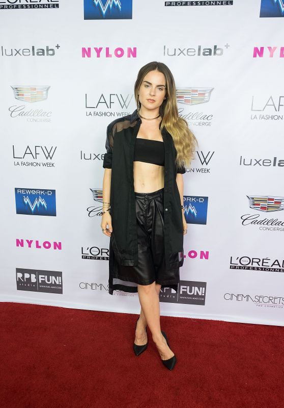 Joanna JoJo Levesque - Ashton Michael Fashion Show - LA Fashion Week, October 2015