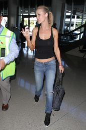 Joanna Krupa - at LAX Airport, October 2015