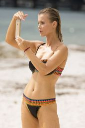 Joanna Krupa in a Bikini - Miami Beach, October 2015