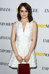 Joey King – 2015 Teen Vogue Young Hollywood Issue Launch Party in Los Angeles