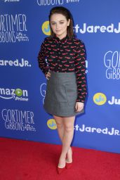 Joey King – Just Jared 2015 Fall Fun Day in Los Angeles
