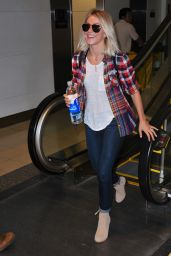 Julianne Hough Airport Style - at LAX Airport in Los Angeles, October 2015
