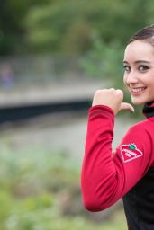 Kaetlyn Osmond Photoshoot, October 2015