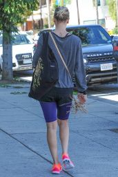 Kaley Cuoco - Leaving Yoga Class in Los Angeles, October 2015