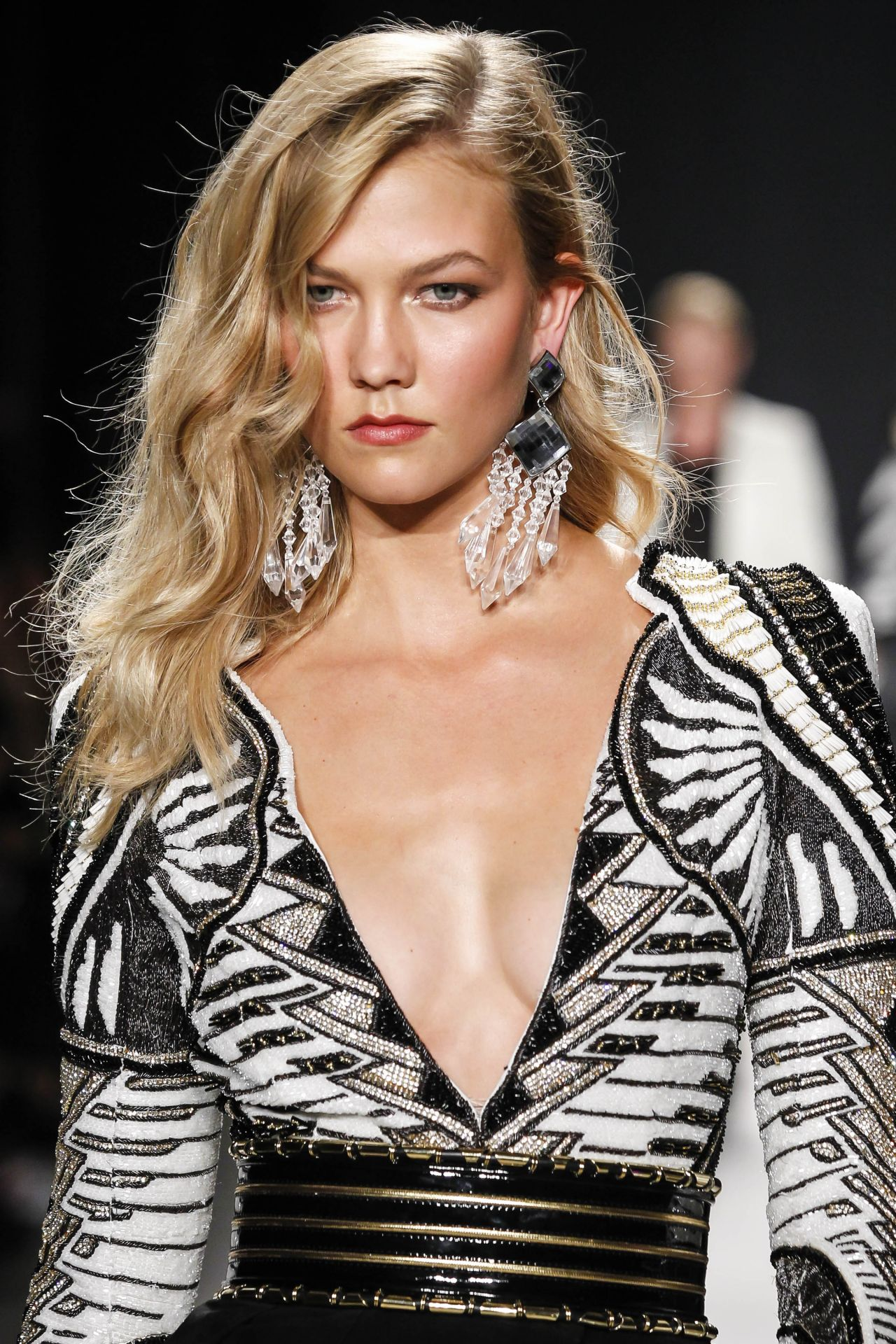 Karlie Kloss Balmain X H Amp M Collection Launch In New York