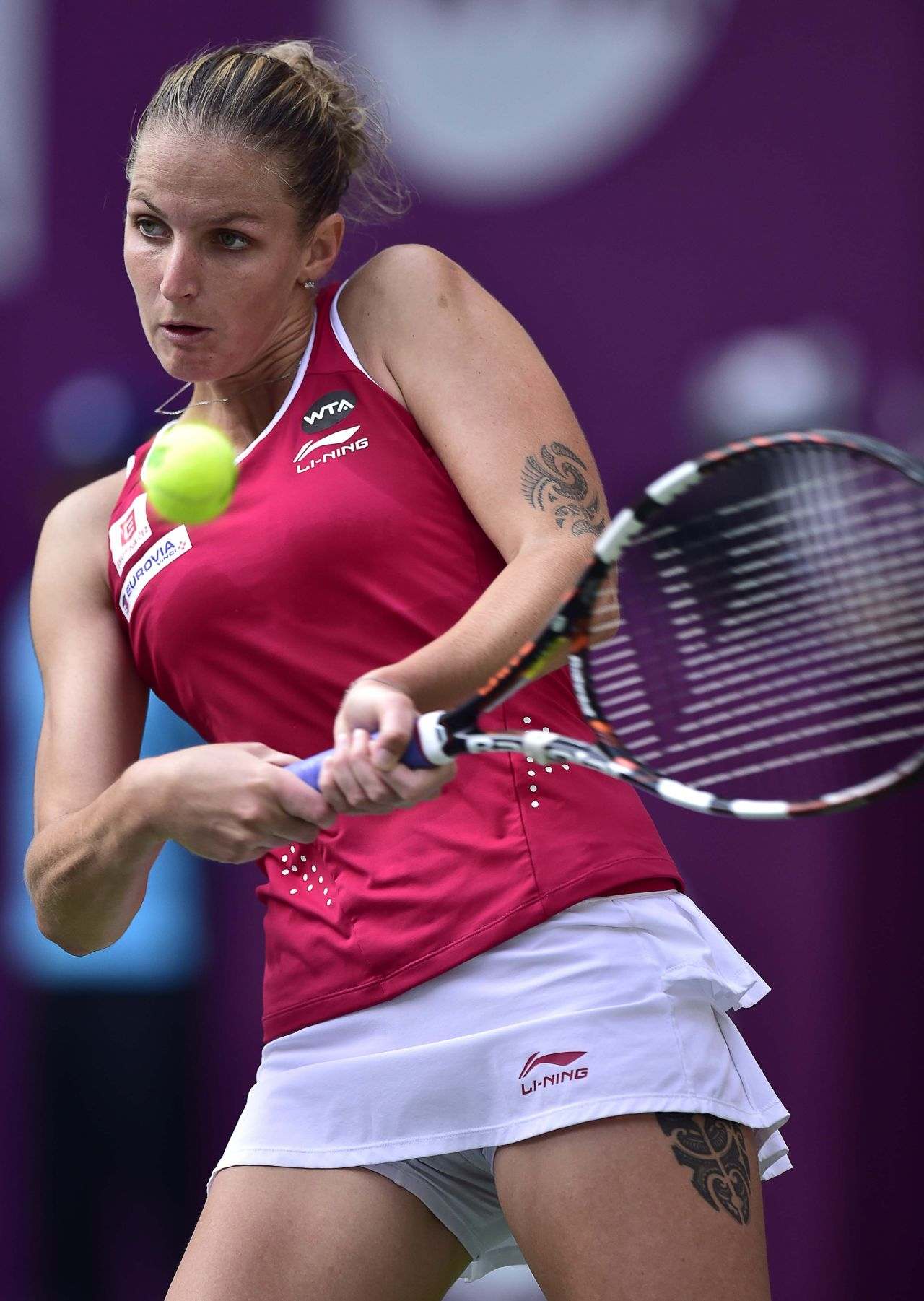 Karolina Pliskova - 2015 Tianjin Open In China - Quarter-Final-7445