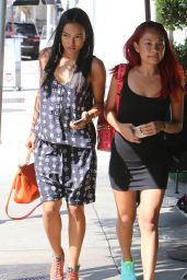 Karrueche Tran Casual Style - Out in Los Angeles, October 2015