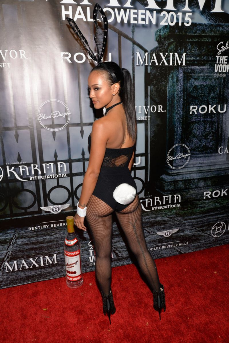 Tran - The Official MAXIM Halloween Party in Beverly Hills ...