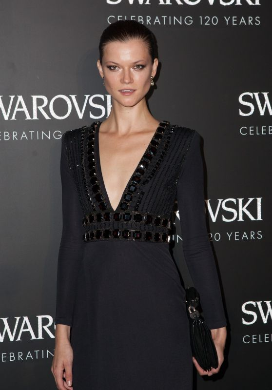 Kasia Struss - Swarovski 120 X Rizzoli Exhibition and Cocktail in Paris