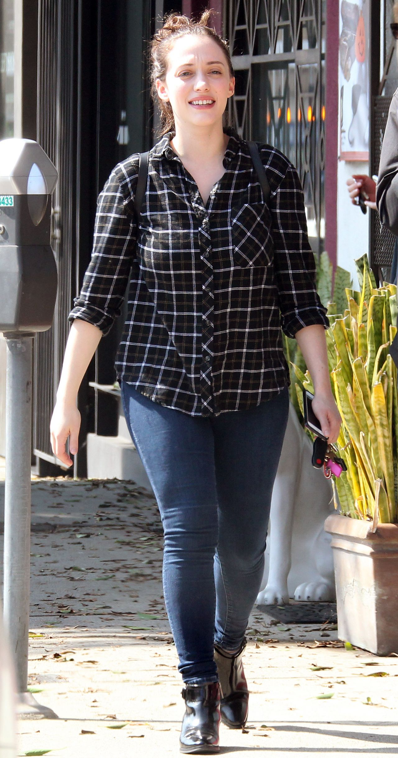 Kat Dennings Out In West Hollywood October 2015