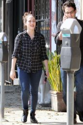 Kat Dennings - Out in West Hollywood, October 2015