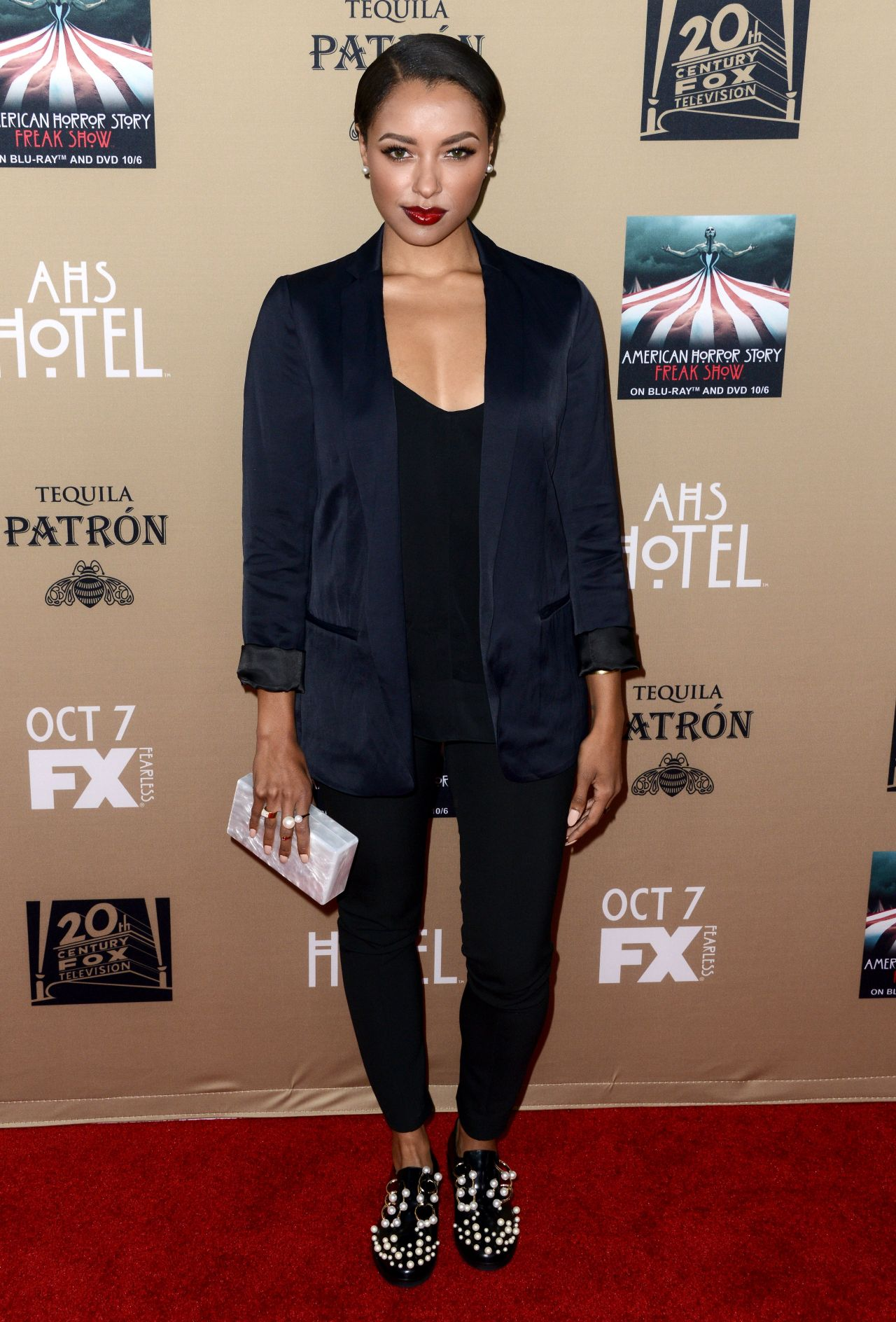 Kat Graham – FX's 'American Horror Story: Hotel' Screening in Los Angeles