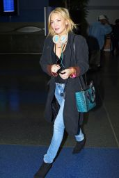 Kate Hudson at JFK Airport, October 2015