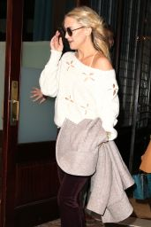 Kate Hudson - Leaving Her Hotel in New York City, October 2015
