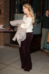 Kate Hudson - Leaving Her Hotel in New York City, October 2015