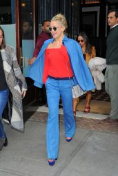 Kate Hudson Style - Leaving Her Hotel in NYC, October 2015