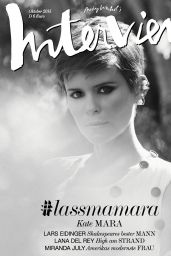 Kate Mara - Interview Magazine Germany October 2015 Issue