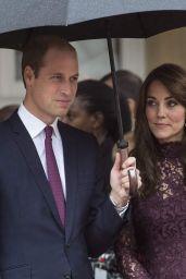 Kate Middleton - Chinese State visit in London - October 2015