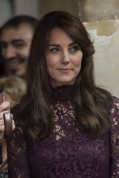 Kate Middleton - Chinese State visit in London - October 2015