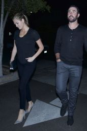 Kate Upton at Nobu Restaurant in Los Angeles, October 2015