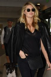 Kate Upton - Departing on a Flight at LAX Airport in Los Angeles, October 2015