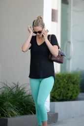 Kate Upton in Leggings - Out in West Hollywood, October 2015
