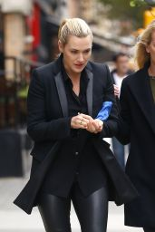 Kate Winslet - Leaving Her Hotel in New York City, October 2015
