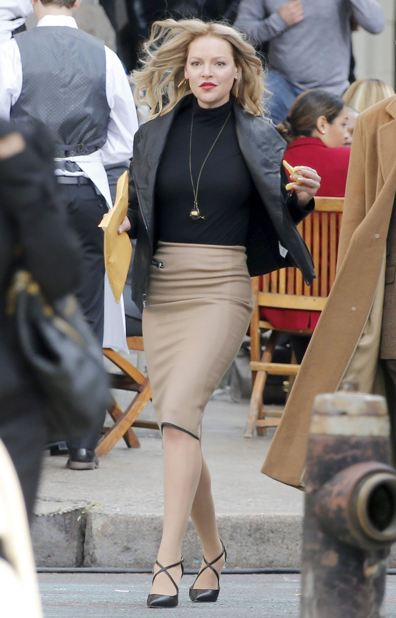 Katherine Heigl – Filming 'Doubt' in Tribeca, New York City ...