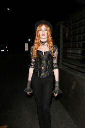 Katherine McNamara – Hyde's Halloween Bash in Hollywood, October 2015