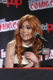 Katherine McNamara - Shadowhunters Panel at New York Comic-Con 2015