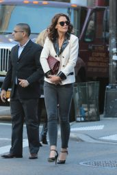 Katie Holmes - Out in NYC, October 2015
