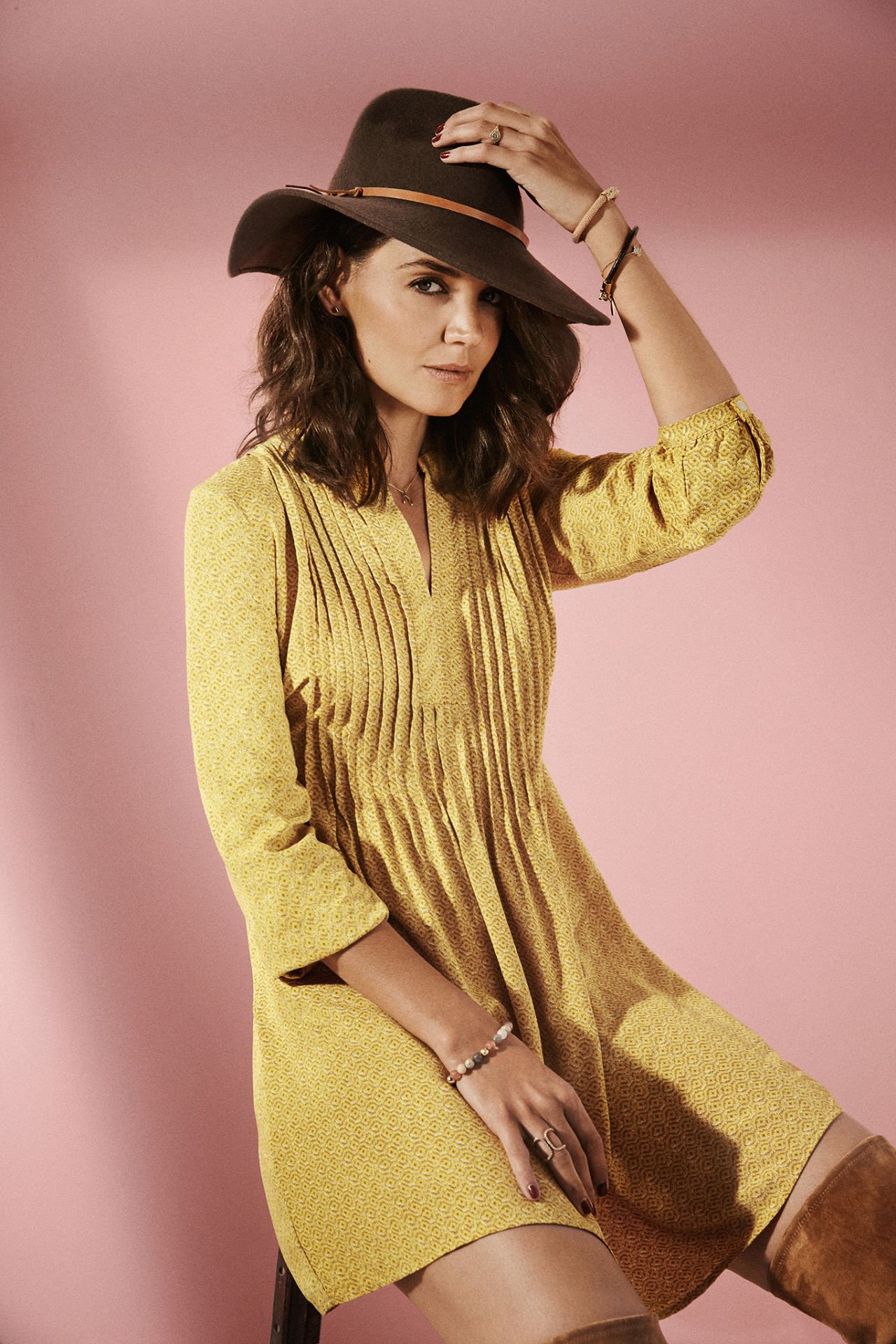 Katie Holmes – Photoshoot for Refinery29, September 2015