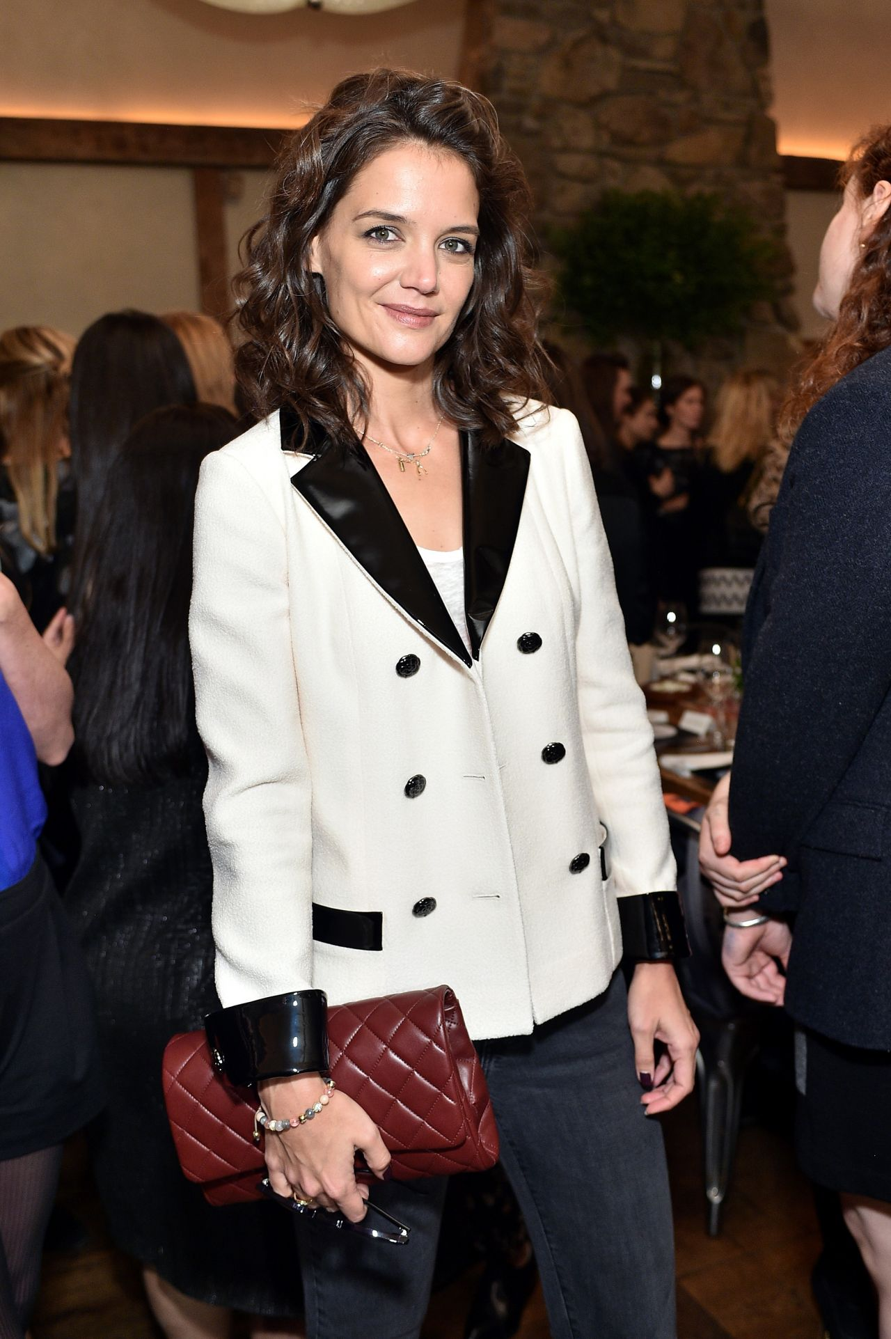 Katie Holmes - Through Her Lens - The Tribeca Chanel Women