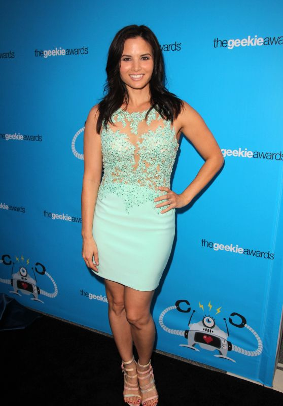 Katrina Law - 2015 Geekie Awards in Los Angeles