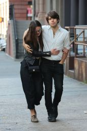 Keira Knightley and Husband James Righton - Out in NYC, October 2015