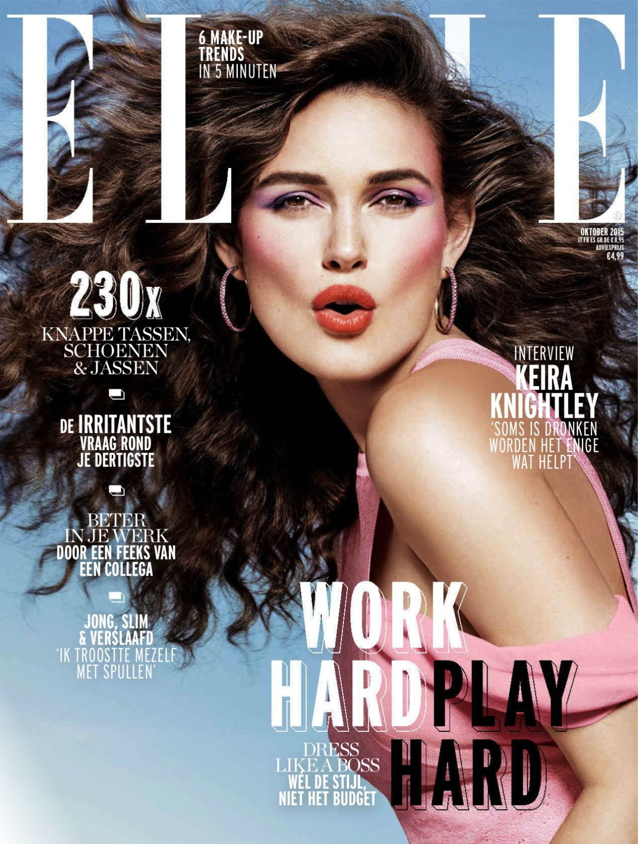 Elle Magazine France February March: Elle Magazine October 2015