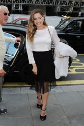 Kelly Brook - Arriving the Raindance Film Festival at Vue Cinema in London