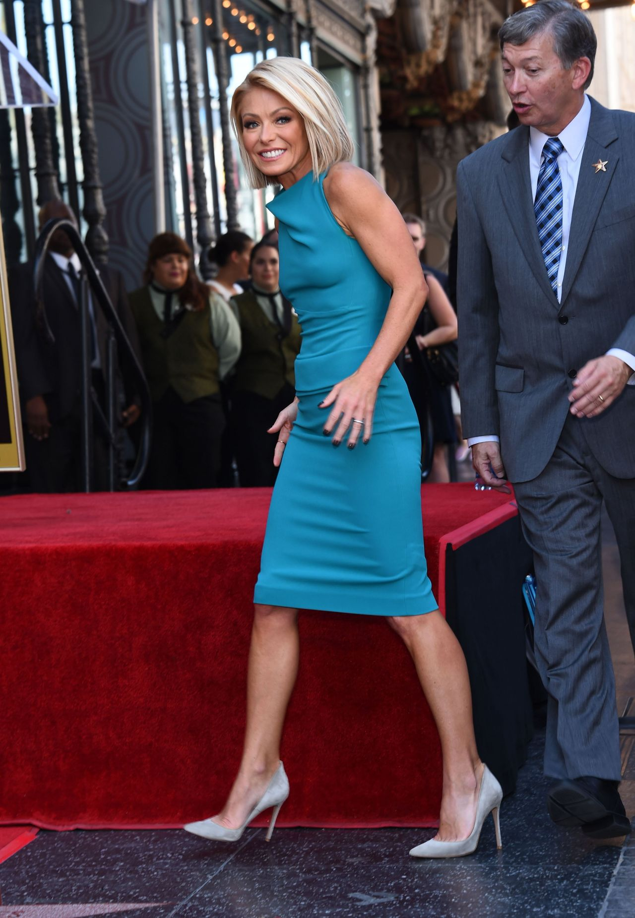 Kelly Ripa Receives Her Star On The Hollywood Walk Of