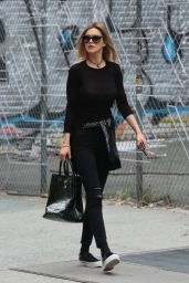 Kelly Rohrbach Street Style - Out in SoHo New York, October 2015