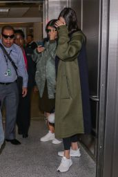 Kendall Jenner Airport Style - LAX Airport, October 2015