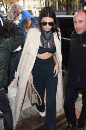 Kendall Jenner - Arriving at L
