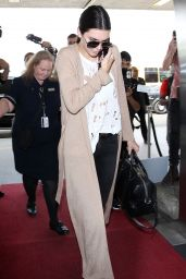 Kendall Jenner at LAX Airport, October 2015