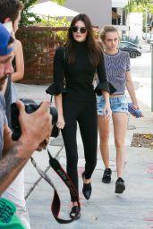 Kendall Jenner, Cara Delevingne, Gigi Hadid - Out in West Hollywood, October 2015
