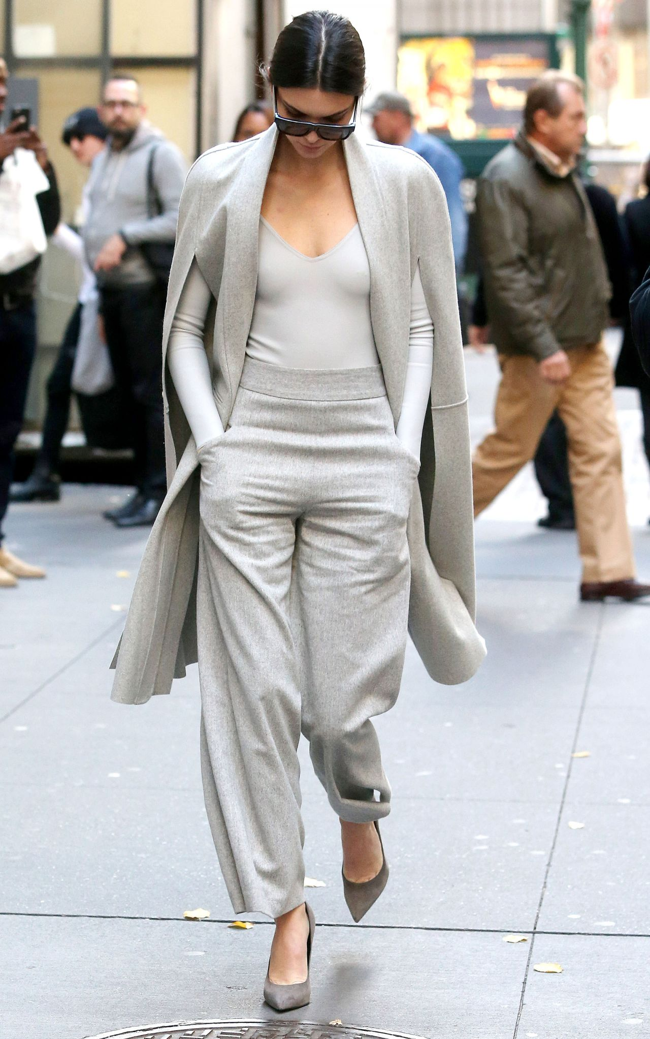 Kendall Jenner Fashion Out In New York City October 2015