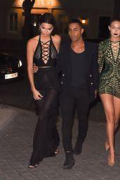 Kendall Jenner & Gigi Hadid - at The Reserve Restaurant in Paris, September 2015